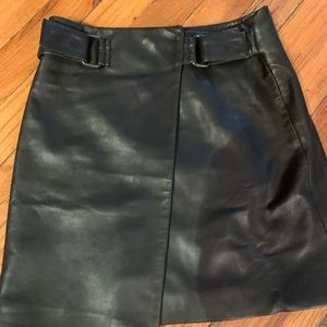All saints leather skirt - size 0 fits like a 2-4